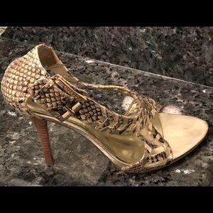 Guess Rainne2 Snakeskin Sandals